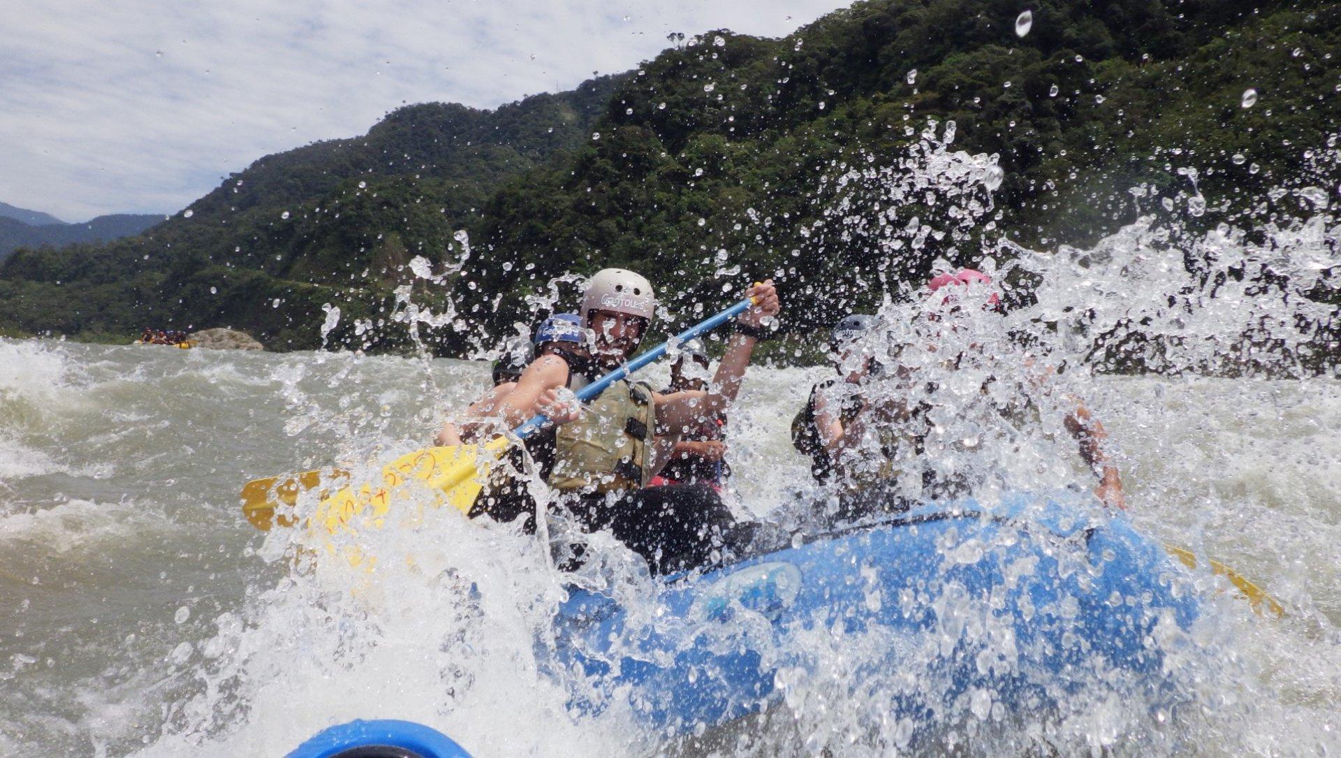 Rafting Baños Ecuador