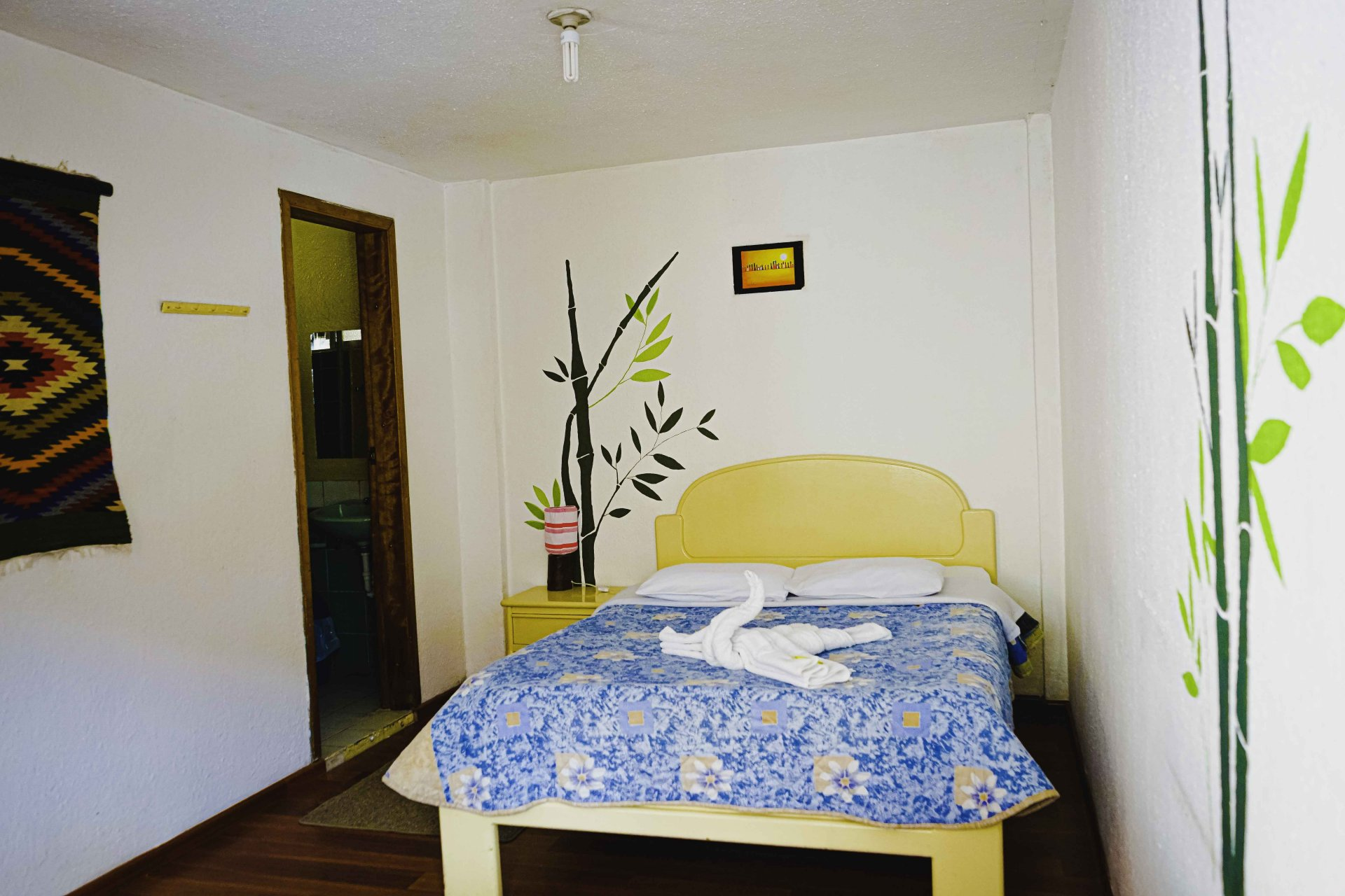 Matrimonial Room in Baños Ecuador